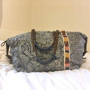 Anthropologie Jasper & Jeera Weekender Duffel Bag